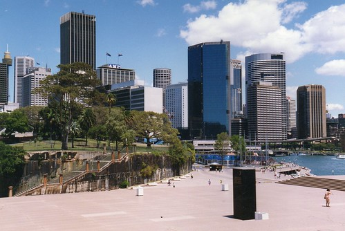View from Sydney Opera House - 3 November 1989