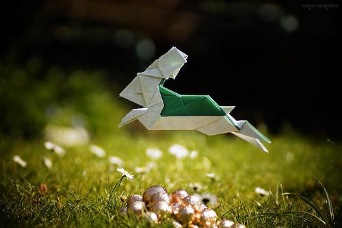 Origami Jumping Rabbit (Andrew Hudson)