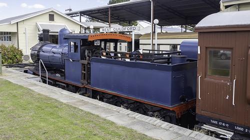 WAGR Steam Locomotive Yx86 - built 1888 - see below