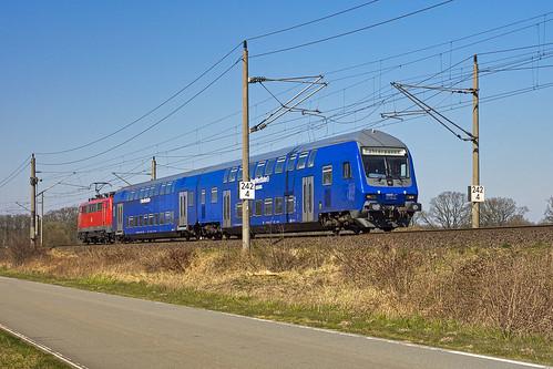 Muessen Str Lengerich - Wittenberge 111 113-7 Dosto
