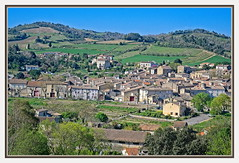 Spring in St Hilaire, Aude, South of France
