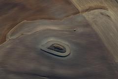 Aerial close up