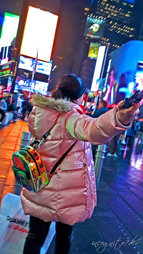 In Times Square at Night Midtown Manhattan New York City NY P00491 20191003_193206(0)