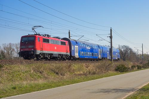 Muessen Str Lengerich - Wittenberge 111 113-7 ns