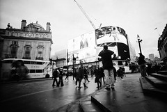 Photographing Piccadilly Circus