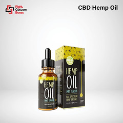 Custom CBD Hemp Oil Boxes Wholesale