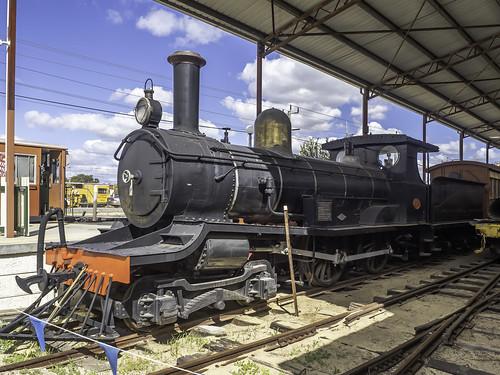 WAGR Locomotive R 174 - built 1898 - see below