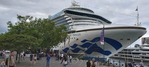 Ill fated Ruby Princess Cruise ship.