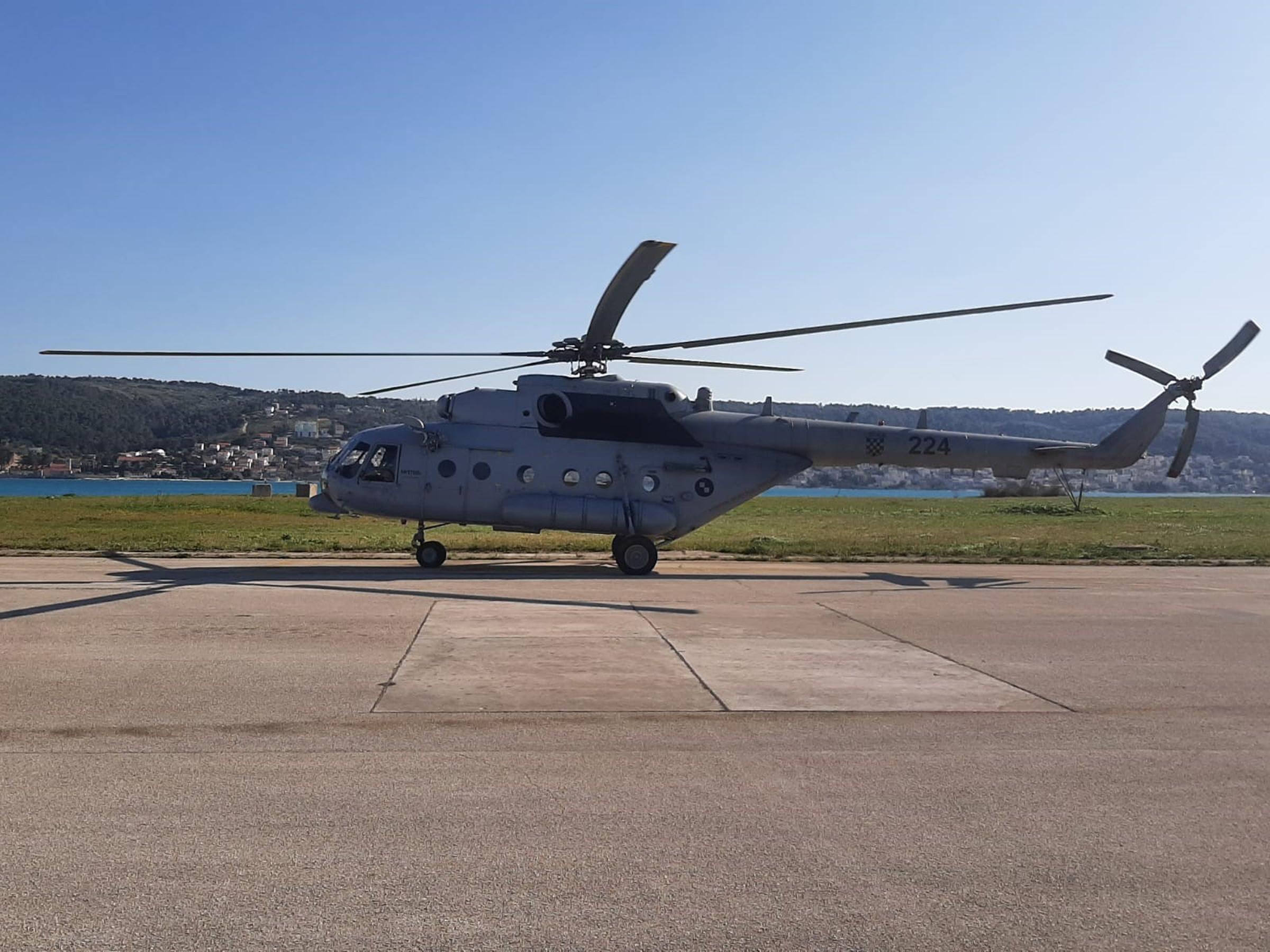 Helikopteri Hrvatske vojske prilagođeni za prijevoz oboljelih od koronavirusa