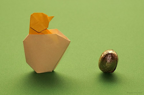 Origami Chick and Egshell (Sergei Afonkin)