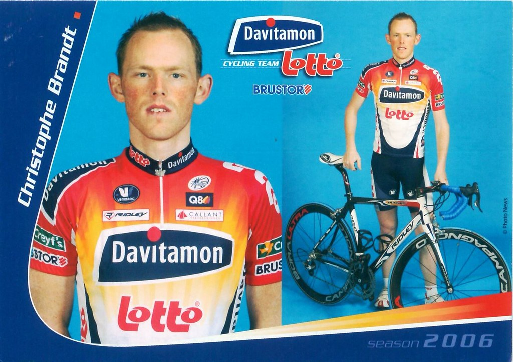 Brandt Christophe - Davitamon-Lotto 2006