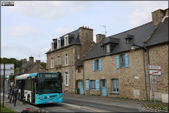 Heuliez Bus GX 127 – CAT (Compagnie Armoricaine de Transport) (Transdev) / Dinamo ! (Dinan Agglomération Mobilités) n°70707 ex Rapides Côte d'Azur (Transdev) / Lignes d'Azur n°829