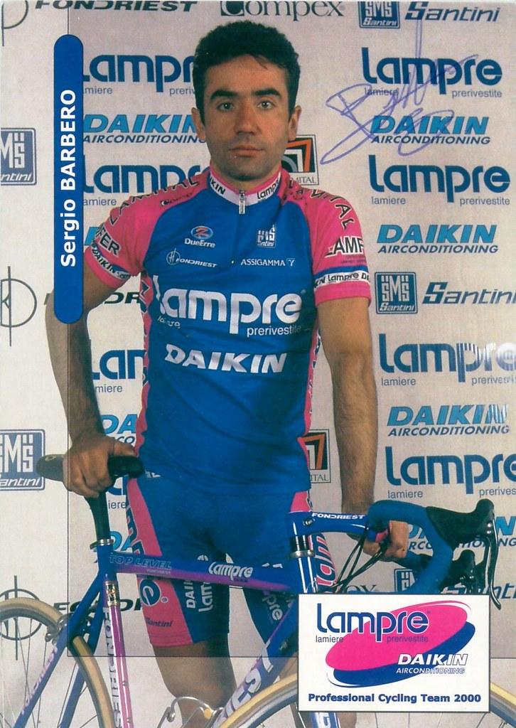Barbero Sergio - Lampre 2000