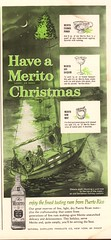 1963 Merito Puerto Rican Rum Advertisement Playboy January 1963