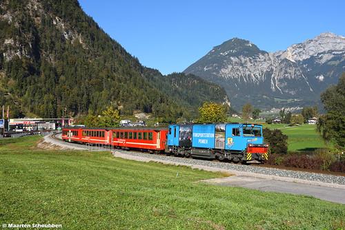 Zillertalbahn D15 @ Schlitters
