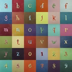 36days_07 – letras e números de origami