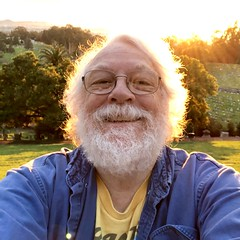 Sunset selfie, Mountain View Cemetery, Oakland, CA IMG_0321