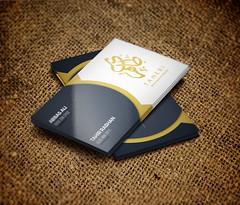 Business Card Design for Taheri Real Estate & Builders