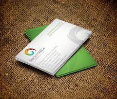 Business Card Design for Mach 4 Tech