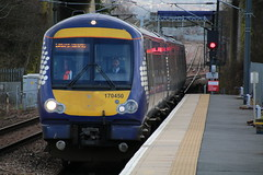 Scotrail Class 170 on Service Towards Edinbourgh