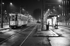 Waiting for Tram and Dawn of Milan