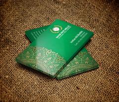 Business Card Design for Noor Rice Mills