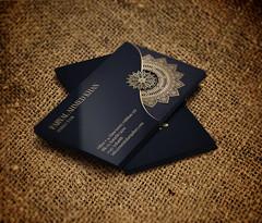 Business Card Design for Essential Art Gallary