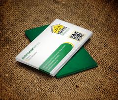 Business Card Design for Tameer Bazaar
