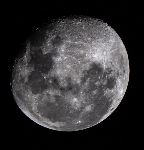 Waning Gibbous Moon - Light Side of the Moon