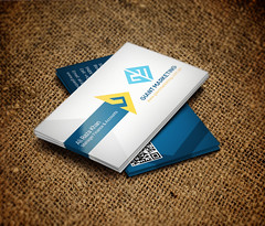 Business Card Design for Real Estate Marketing Company