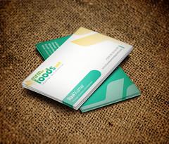 Business Card Design for MRM Foods