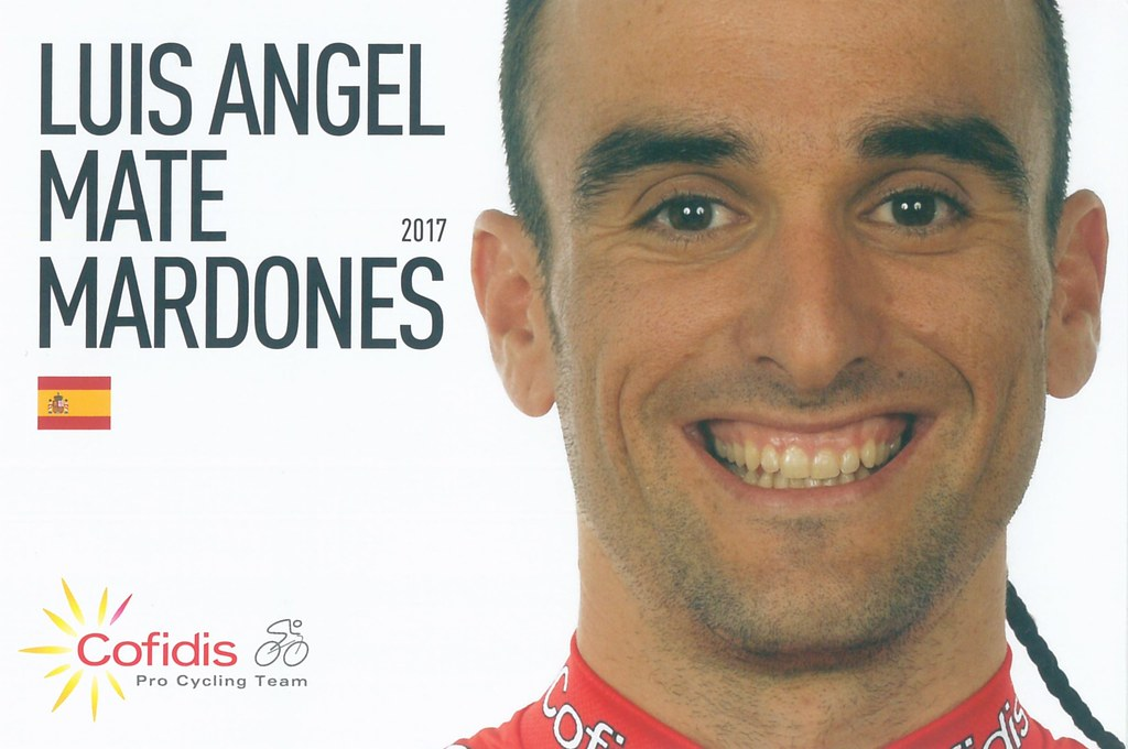 Luis Angel Mate Mardones - Cofidis, Solutions Credits 2017