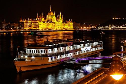 Budapest by night 💕
