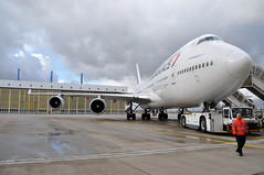 F-GITJ  CDG  LAST FLIGHT BOEING 747 AIR FRANCE