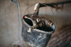Old tap closeup.