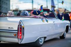 Hecklichter eines Cadillac Deville der dritten Generation