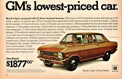 1970 Opel 2-Door Sedan
