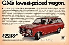 1970 Opel Wagon