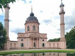 Moschee im Schlossgarten Schwetzingen, Deutschland
