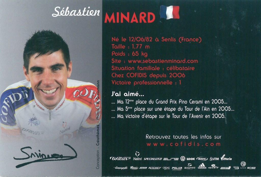 Minard Sébastien - Cofidis, le crédit par téléphone 2006