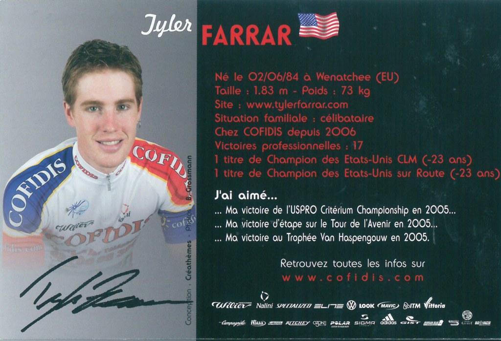 Farrar Tyler - Cofidis, le crédit par téléphone 2006 (2)