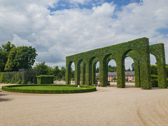 Formal hedges in the Schwetzingen Palace Garden, Germany