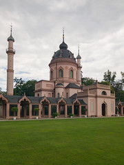 Mosque in the Schwetzingen Palace Garden, Germany