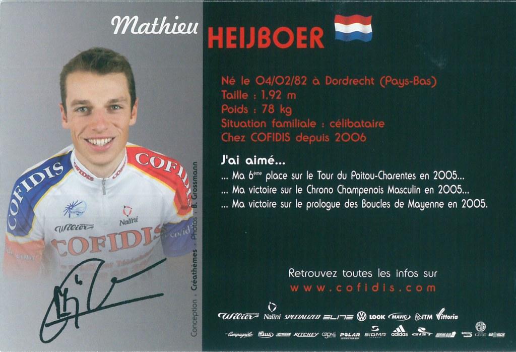 Heijboer Mathieu - Cofidis, le crédit par téléphone 2006 (2)