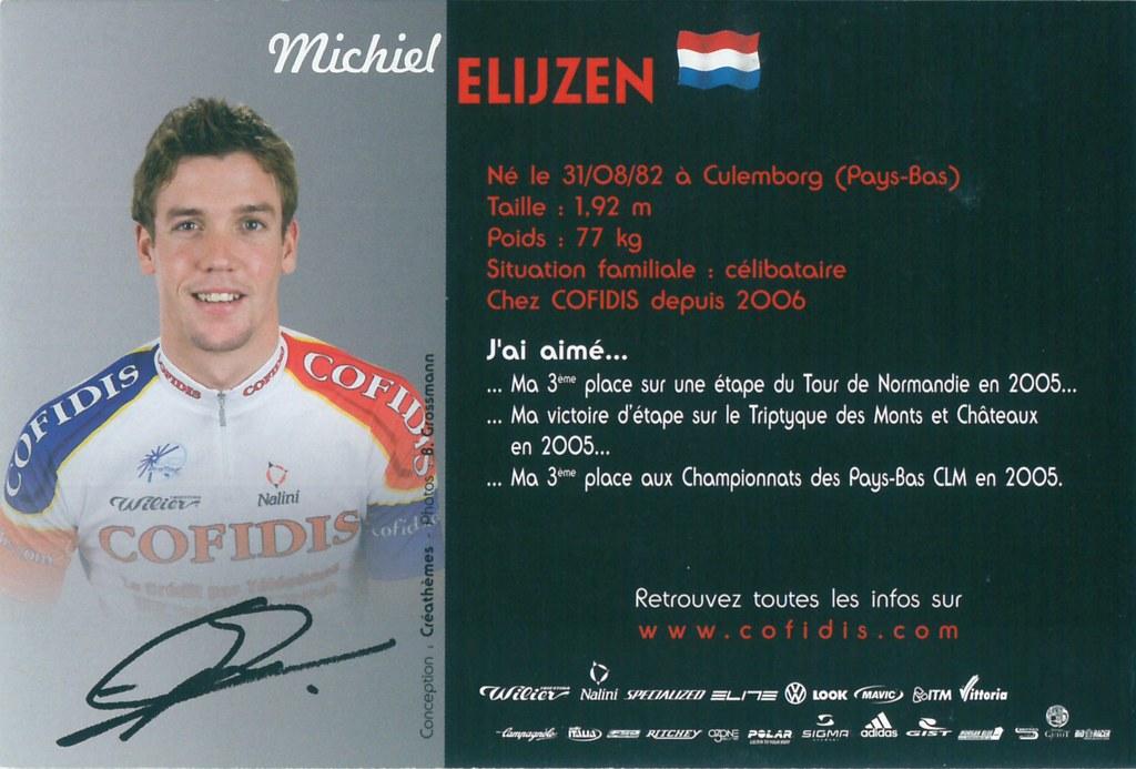 Elijzen Michiel - Cofidis, le crédit par téléphone 2006 (2)