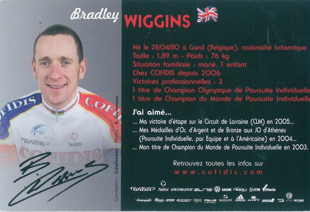 Wiggins Bradley - Cofidis, le crédit par téléphone 2006 (2)
