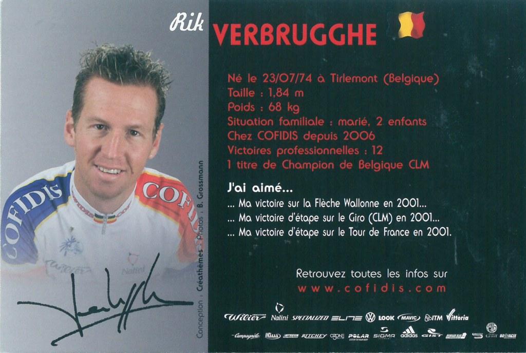 Verbrugghe Rik - Cofidis, le crédit par téléphone 2006 (2)