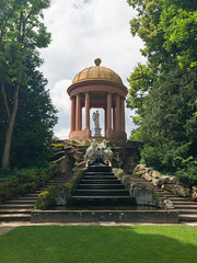 Temple of Apollo in the Schwetzingen Palace Garden, Germany