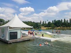 Wasserski-See Langenfeld, Deutschland