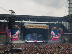 Pink concert 2019 at RheinEnergieStadion in Cologne, Germany